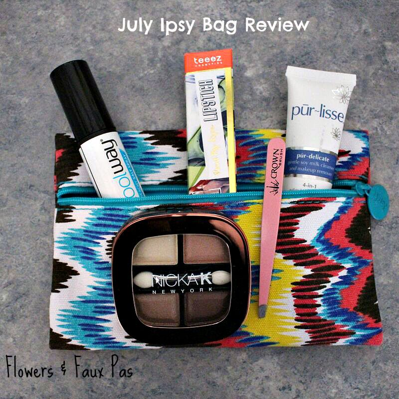 July Ipsy Feature