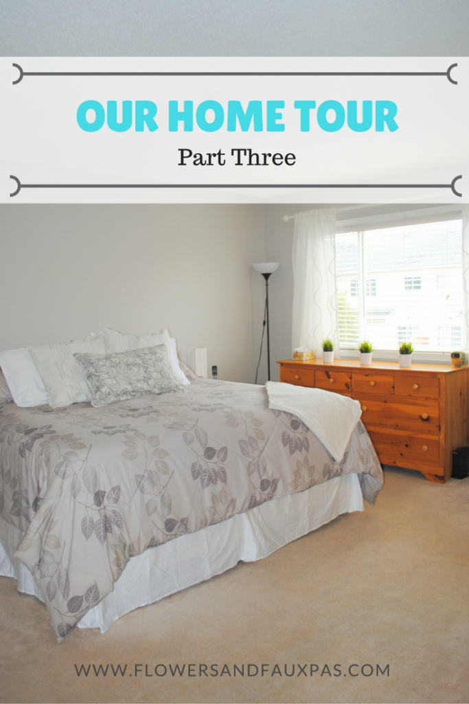 Master Bedroom Grey Decor Makeover